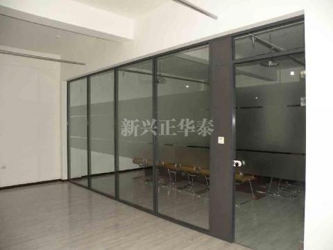 会议室玻璃百叶隔断